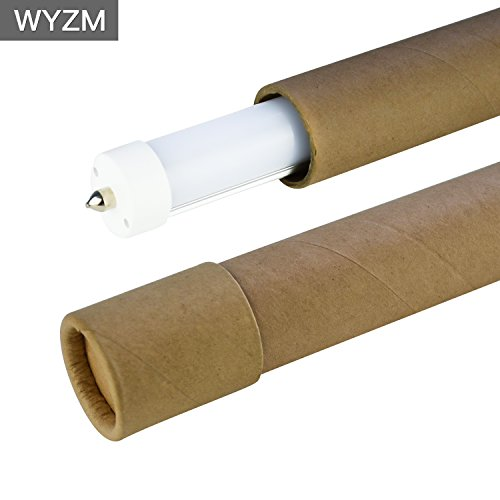 8ft LED Light Tubes for Fluorescent Fixtures,96'' F96T12 LED Tube,Replacement,120V and 277V Input, 5500K Daylight White,40Watt 4000LM Super Bright (4PCS 5500K Daylight White) by WYZM (Image #5)