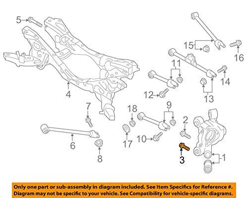 Mazda 9YA0-2A-024, Disc Brake Caliper Bracket Mounting -