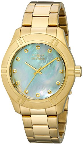 Invicta Men's 18334 Pro Diver Analog Display Japanese Quartz Gold Watch
