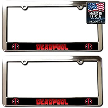 """/""""JUVENTUS FC/"""" License Plate Frame Custom Made of Chrome Plated Metal"""