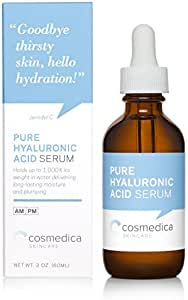 Cosmedica Pure Hyaluronic Acid Serum 2oz / 60ml