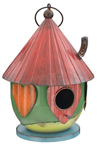Regal Art & Gift Folk Birdhouse, Green