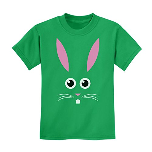 TeeStars - Bunny Face - Cute Little Easter Bunny - Funny Easter Kids T-Shirt X-Small ()