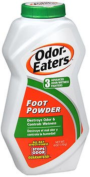 Odor-Eaters Foot Powder - 6 oz, Pack of 2