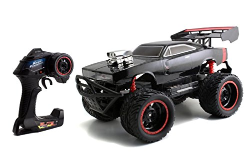 Jada Toys Fast & Furious R/T High Speed Elite Off Road RC/ Radio Control Toy Car/Vehicle, 2.4 Ghz, Ready to Run with Working Lights