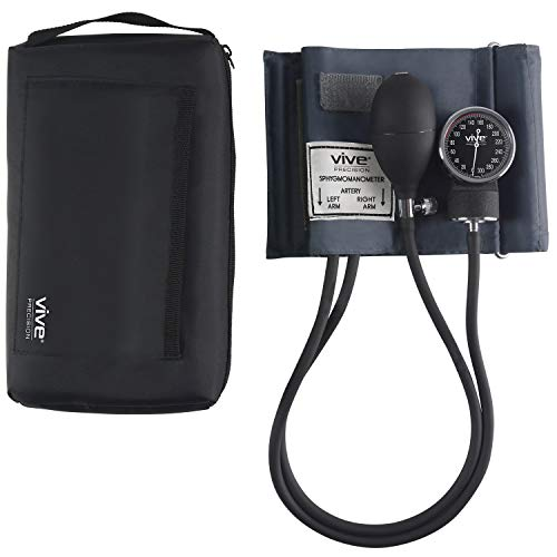 Vive Precision Aneroid Sphygmomanometer with Case - Manual B