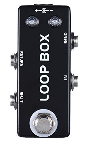 Mosky Mini Loop Box Guitar Effect Pedal with Channel Selection