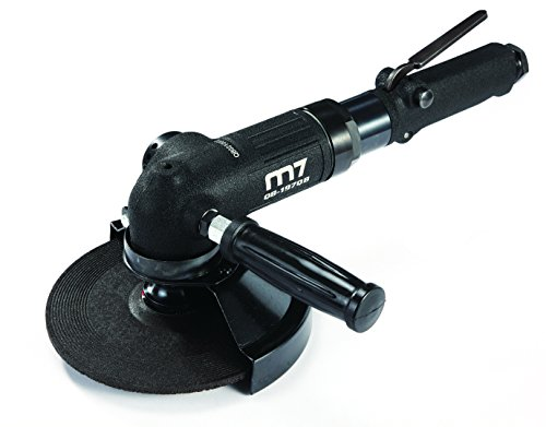 Mighty Seven QB-197Q 7' Air Angle Grinder with Lever-Type Throttle