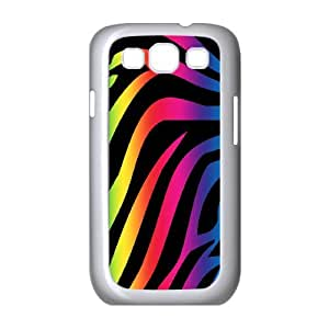 CHSY CASE DIY Design Colorful Cute Zebra Style Pattern Phone Case For Samsung Galaxy S3 I9300