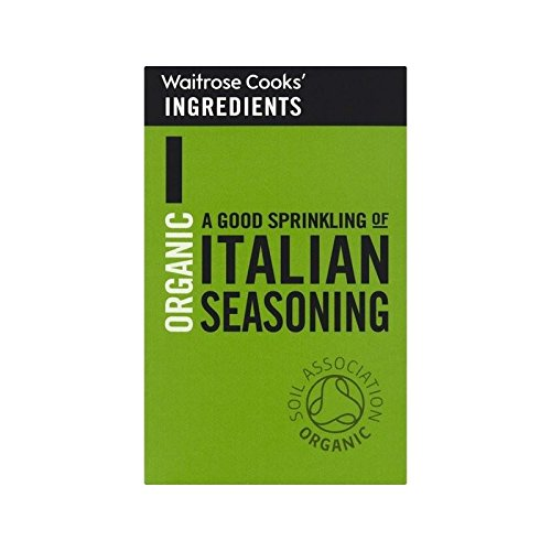 Cooks' Ingredients Organic Italian Seasoning Waitrose 22g - Pack of 6
