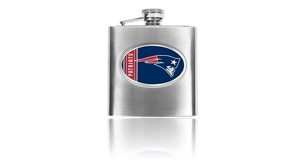 Amazon.com: Personalizado NFL 8oz Acero Inoxidable Flask ...