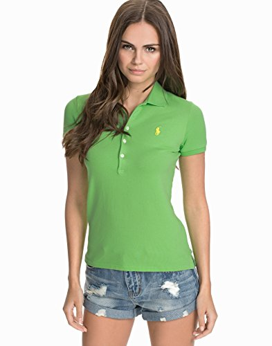 Polo Donna Verde Ralph Lauren Fit Polo Slim 0rUvwr6qRx