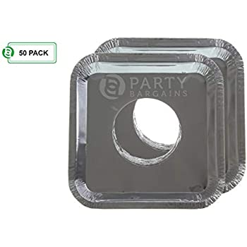 Amazon Com Party Bargains Square Burner Bibs Disposable