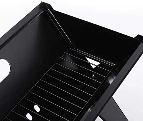 Barbecue HZY Portable Rack, X-Type Se Pliant épais Charbon Camping en Plein air de Pique-Nique Outils 40x30x49.5 cm