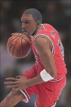 McFarlane Toys NBA Sports Picks Series 4 Action Figure Jalen Rose (Chicago Bu...