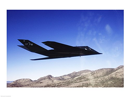 Used, F-117A Stealth Fighter Art Print, 19 x 14 inches for sale  Delivered anywhere in USA