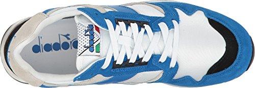 c 4000 Blue Sneaker Low Unisex Black Adults' White Diadora Princess NYL Ii I Neck q7aIw0xt
