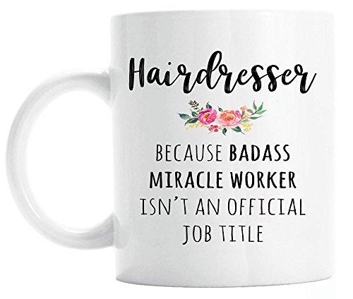 Gift for Hairdresser, Funny Hairdresser Coffee Mug, Graduation - Mug Hair