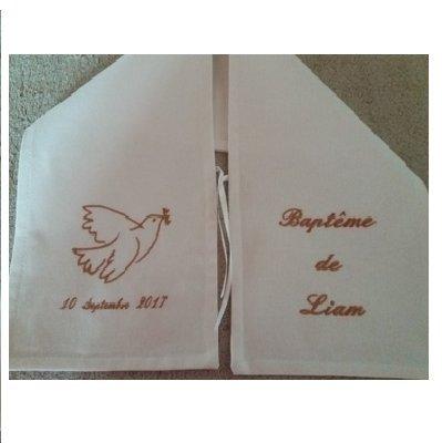 Pañuelo de bautizo.: Amazon.es: Bebé