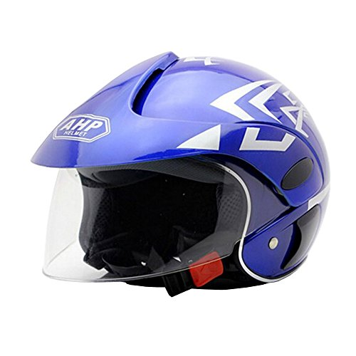 E Support™ Blau ABS nette Kinder Kunststoff Schutz Regenschutz Verschleierungstaktik Feldarmee Kampfhelm ATV Motorradhelm Roller Helm Schutzhelm