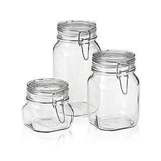 Bormioli Rocco Fido Canning Jar, Set of 3 (17.5 oz,33.75 oz,50.75 oz.) (B002IT6X0C) | Amazon price tracker / tracking, Amazon price history charts, Amazon price watches, Amazon price drop alerts