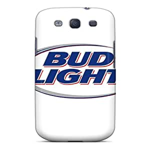Scratch Resistant Hard Cell-phone Case For Samsung Galaxy S3 (Sdl20145NAgp) Unique Design Nice Bud Light Series