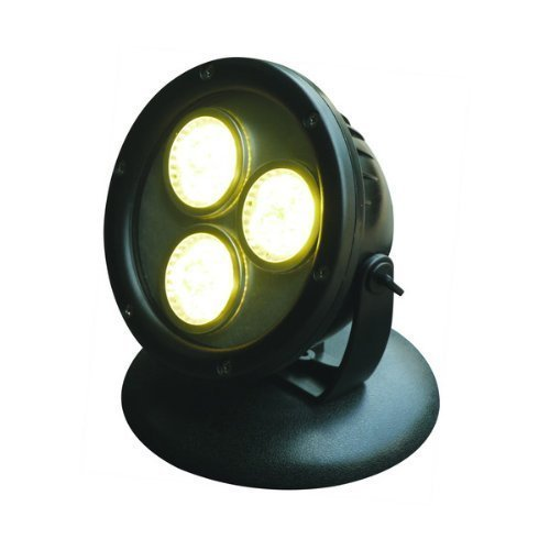 Jebao 12w Submersible LED Spot Light for Landscape Light, Commercial, Home Garden, Tree, Yard, Waterproof, Warm White by Jebao