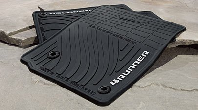 Toyota Floor Mats >> Amazon Com Genuine 2013 Toyota 4runner All Weather Floor Mats