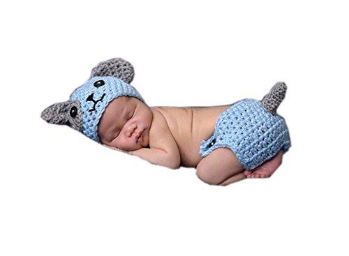 Buy hand crochet baby dress - 8