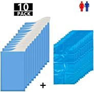 Gels instantly Urine bags Travel Pee Bags Personal Care Living Aids for Unisex Adult Elder Kids in Holidays Tr