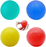 Senfhome Stress Relief Ball, Hand Exercise Balls Egg-Shape Hand, Strengthening Therapy Stress Balls, Great for