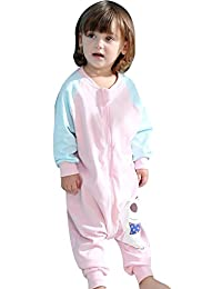 Cyuuro Early Walker Sleep Sack Toddler Wearable Blanket with Legs and Arms
