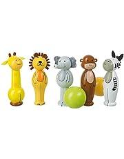Orange Tree Toys -Portakal Ağacı Oyuncaklar 46023 Safari Skittles Oyun, Renkli