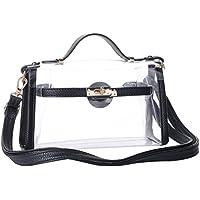 Yocatech Clear Crossbody Messenger Shoulder Bag Purse for...