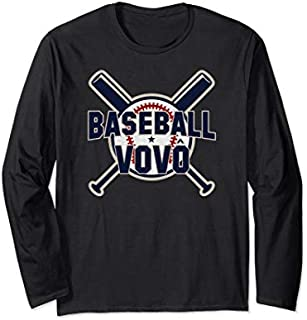 [Featured] Baseball Vovo Softball Papa Funny Father's Day Gift Grandpa Long Sleeve in ALL styles | Size S - 5XL