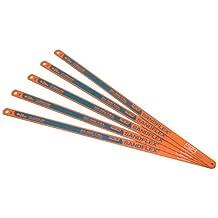 Bahco 12-Inch 3906-300-24-5P Sand Flex Bi Metal Hand Hacksaw Blade, 5-Pack