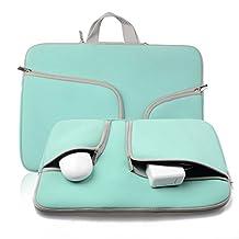 Phenas Fashion Zipper Briefcase Handbag Sleeve Bag Cover Case for Macbook Air & PRO 11 Inch & Universal Laptop Netbook 11.6 Inch