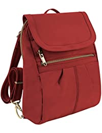 Anti-Theft Signature Slim Backpack, Cayenne