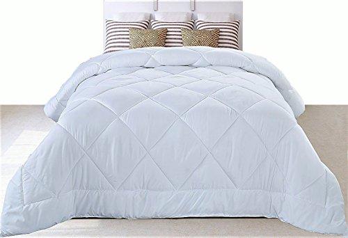 Utopia Bedding Comforter Duvet Insert (Queen) - Ultra Plush Hypoallergenic, Siliconized fiberfill, Down Alternative Comforter (White)