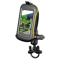 Short Arm Bike Clamp Mount fits Garmin Montana 600 610 610t 650 650t 680 & 680t