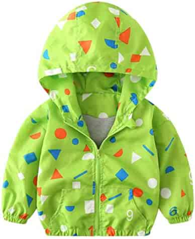 eee81e6364b Sameno Children Coat, Kids Girls Boys Baby Dinosaur Hoodie Autumn Jacket  Windbreaker Outerwear