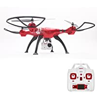 Wotryit Syma X8HG 8MP Camera 2.4GHz 4CH 6 Axis Gyro RC Quadcopter