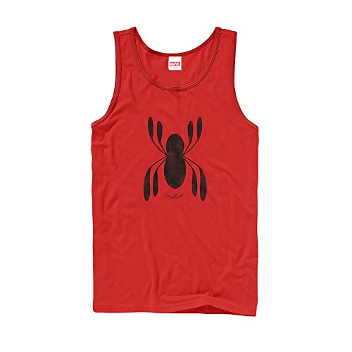spider-man+tank+tops Products : Marvel Spider-Man Homecoming Logo Mens Graphic Tank Top