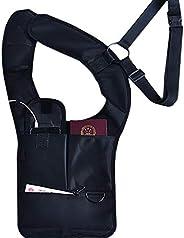 Anti-Theft Hidden Shoulder Holster Wallet,Outdoor Underarm Backpack Pack Pockets, Concealed Tactical Bag,Porta