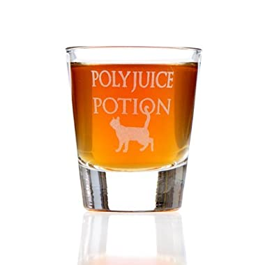 Polyjuice Potion Harry Potter Inspired Shot Glass