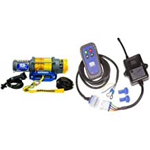 Superwinch 1145230 Terra 45 4500-Pound/2046 kg single line pull with hawse, handlebar mnt toggle, handheld remote, and synthetic rope & Superwinch 06716 Wireless System-CERTUS 12VDC Terra Series