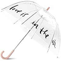 kate spade new york Clear Umbrella - Love Is In The Air