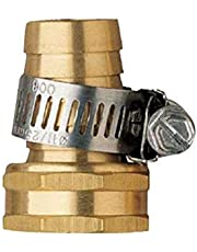Orbit Underground 27178 Green Thumb Brass Female Hose Mender, 5/8-Inch