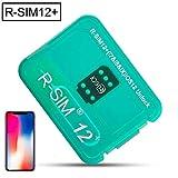 TOMOYOU 12+ Super Unlock Card R-SIM12+ New Version of The Automatic Bullet menu Perfect Unlock Nano Unlock Card RSIM SIM Card R-SIM 12 R SIM 12 SIM 12 SIM
