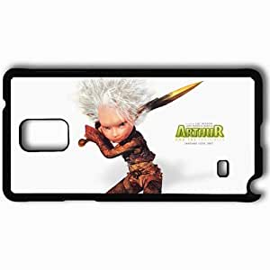 Personalized Samsung Note 4 Cell phone Case/Cover Skin Arthur And The Invisibles Black